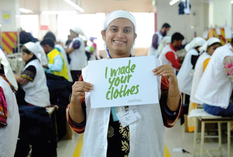 Indische Näherin, Brands Fashion