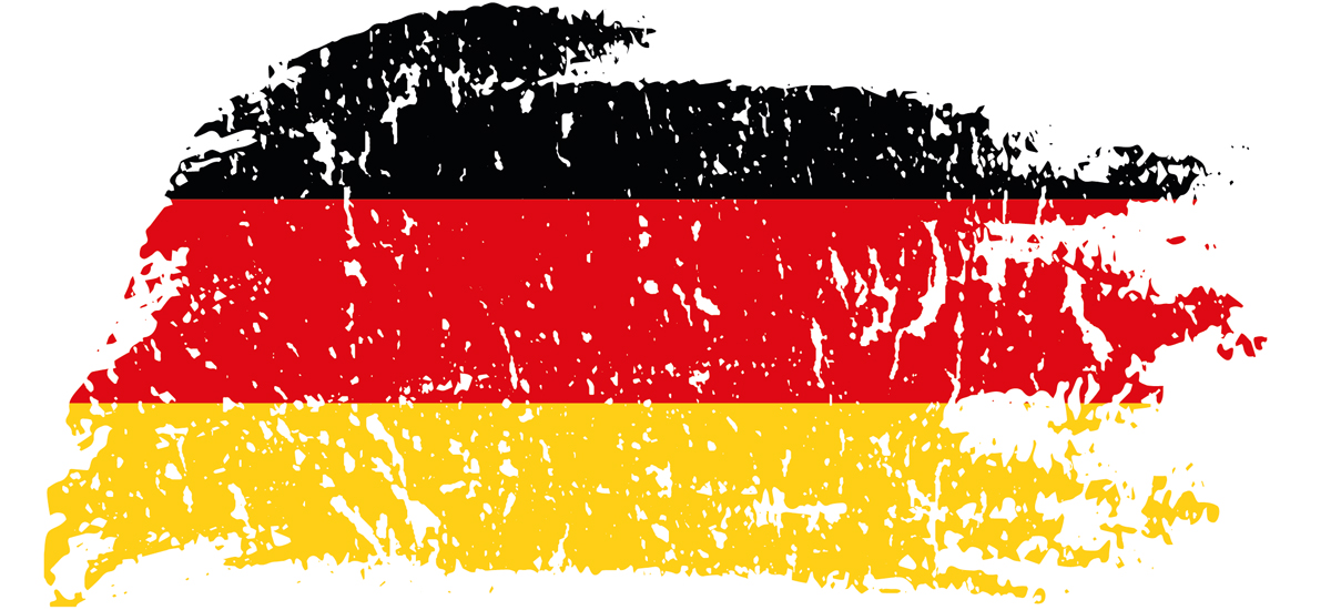 Unterweisungen bei schlechten Deutschkenntnissen: Deutschlandflagge