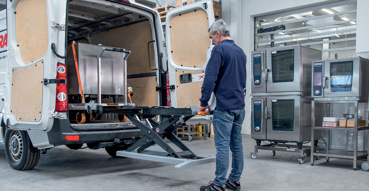 Verladen Transportieren, Rücken schonen: transportsystem xetto