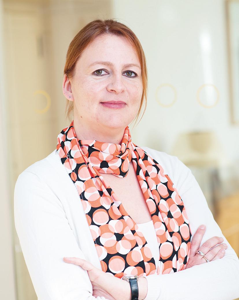 """Portraitfoto Katrin Zittlau Stellvertretendes Mitglied im Vorstand für """"Digitale Transformation – Arbeitswelten im Wandel"""", VDSI"""