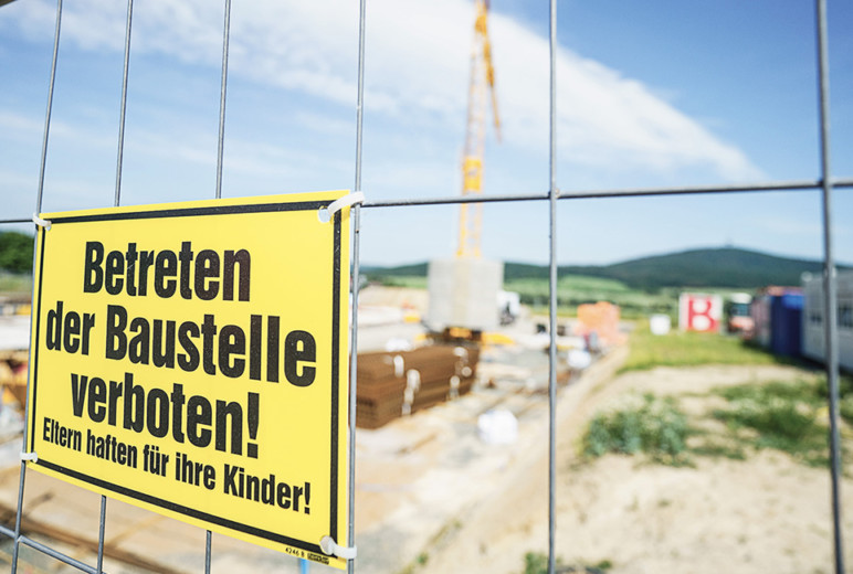Reportage Baustellen-Kontrolle