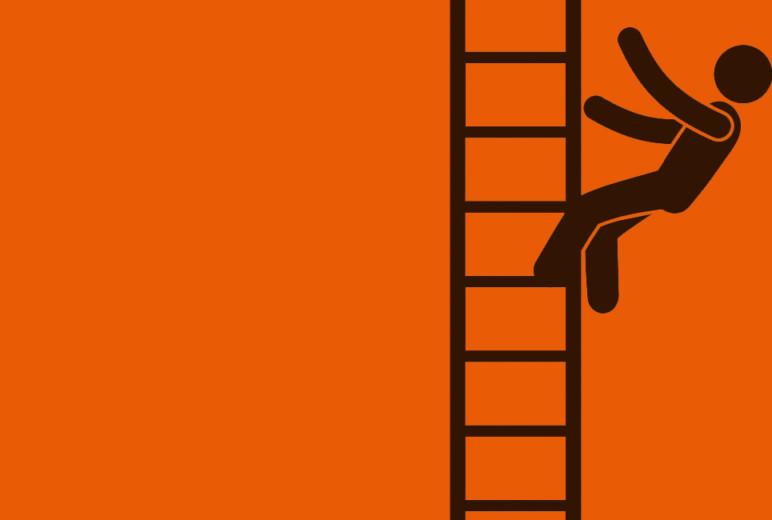Unfälle mit Leitern
