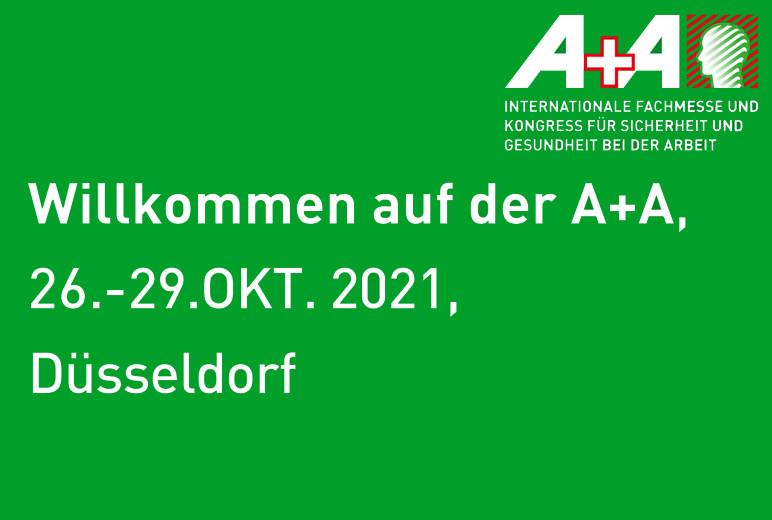 Advertorial von Crossmedia zur A+A 2021 in Düsseldorf - Vorschau
